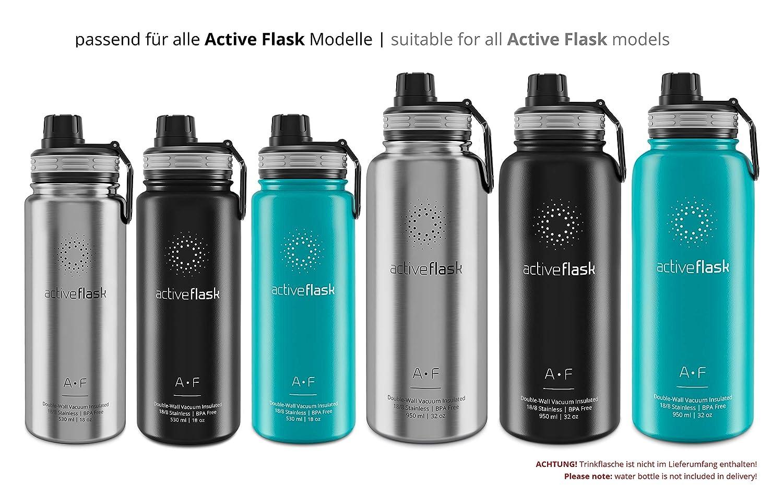 con Correa Ajustable y extra/íble BeMaxx Funda Aislante de Neopreno para Active Flask Herm/ética sin PVC ni Plomo