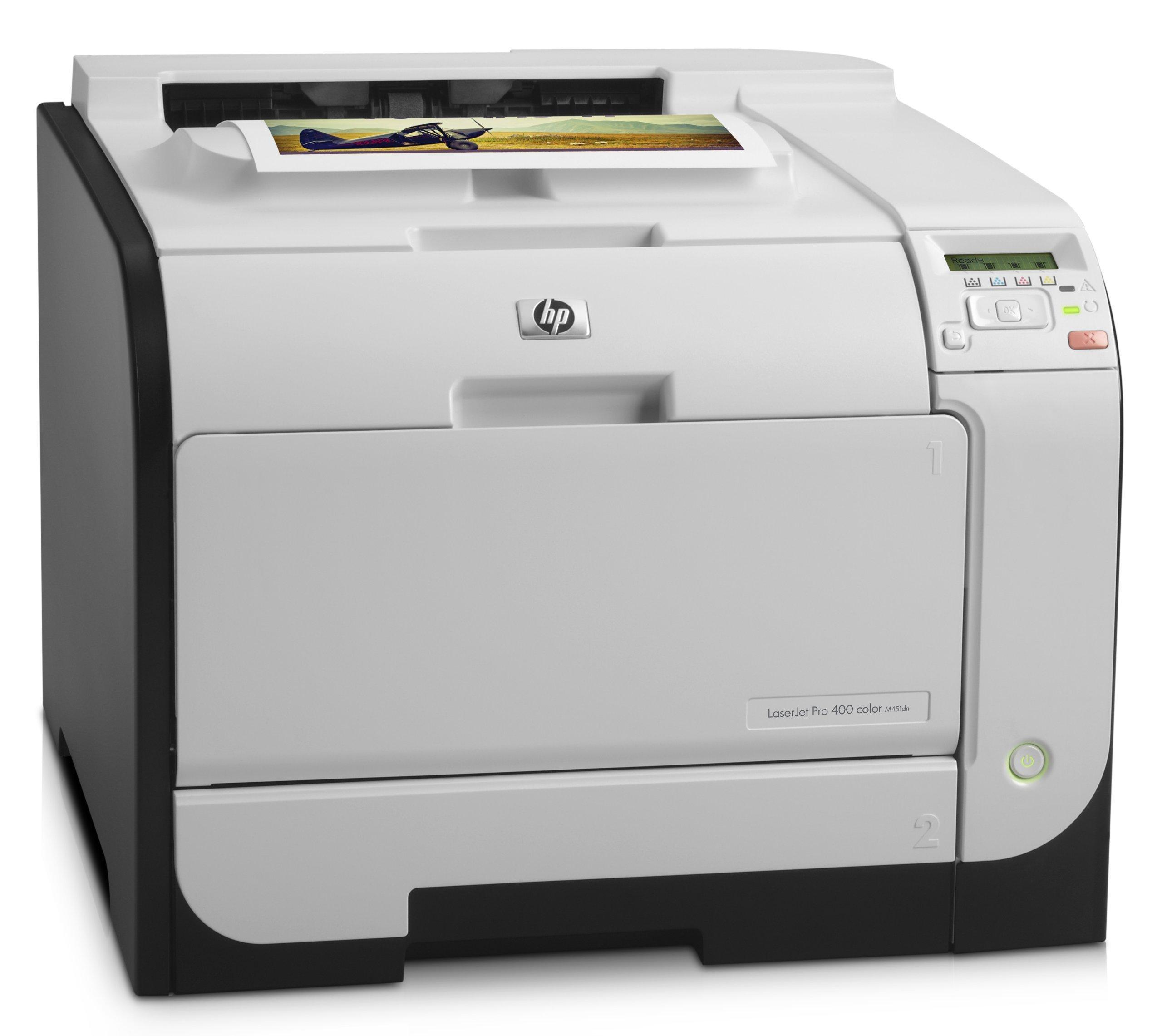 HP LaserJet Pro 400 m451dn Duplex Color Laser Printer (Renewed) by HP (Image #2)