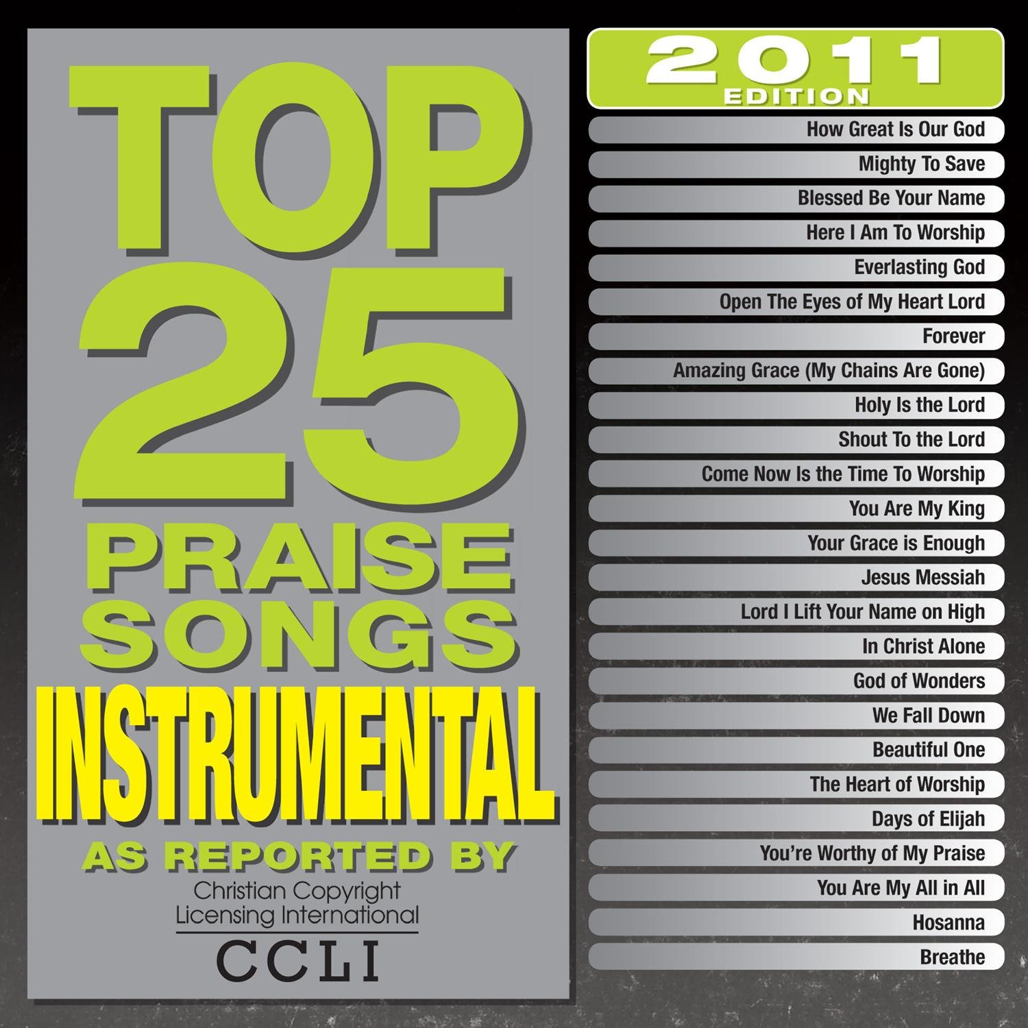 Top 25 Instrumental Praise [2 CD] by Capitol Christian Distribution