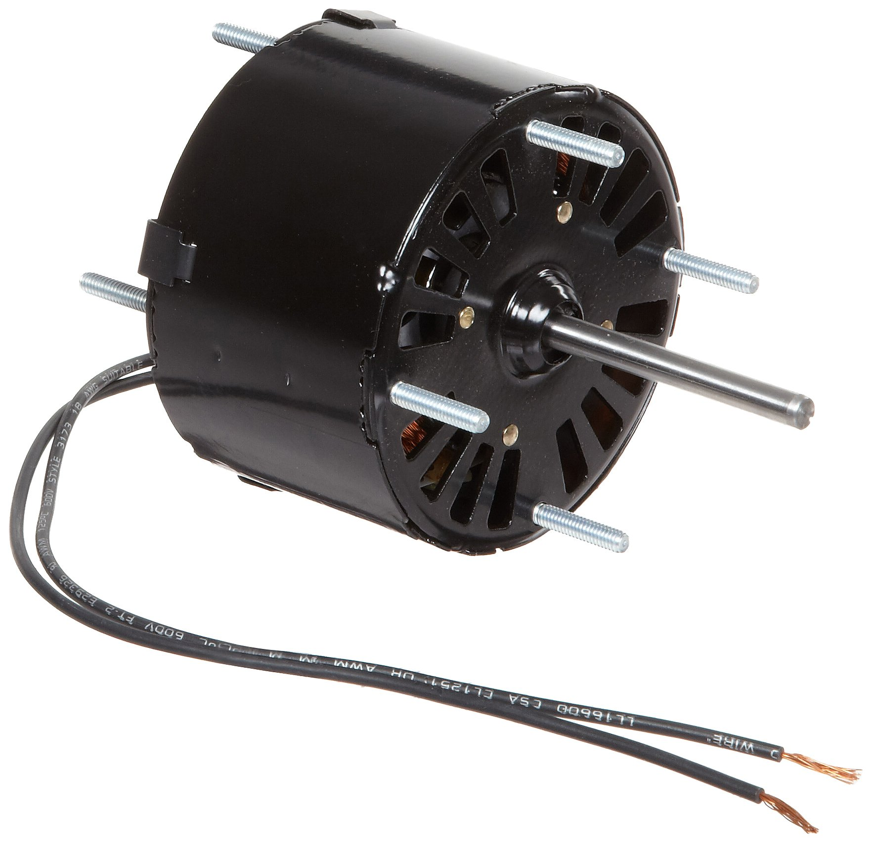 Fasco D121 3.3'' Frame Open Ventilated Shaded Pole General Purpose Motor withSleeve Bearing, 1/70HP, 1500rpm, 115V, 60Hz, 0.7 amps, CCW Rotation