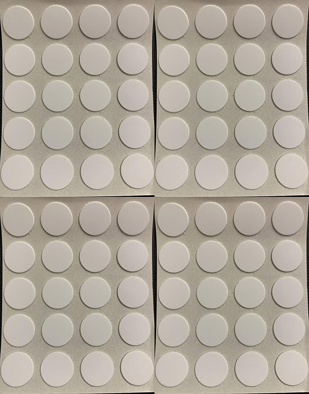 Tapas autoadhesivas para tornillos de 13 mm