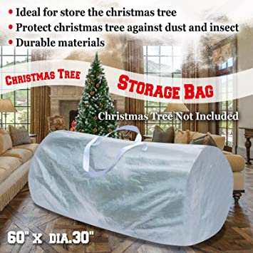 Strong Camel Large Artificial Christmas Tree Storage Bag WHITE For Up To  9ft Tree