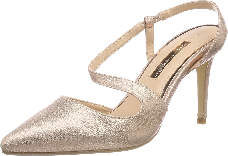 TALLA 38 EU. Dorothy Perkins Granite, Zapatos de tacón con Punta Cerrada para Mujer