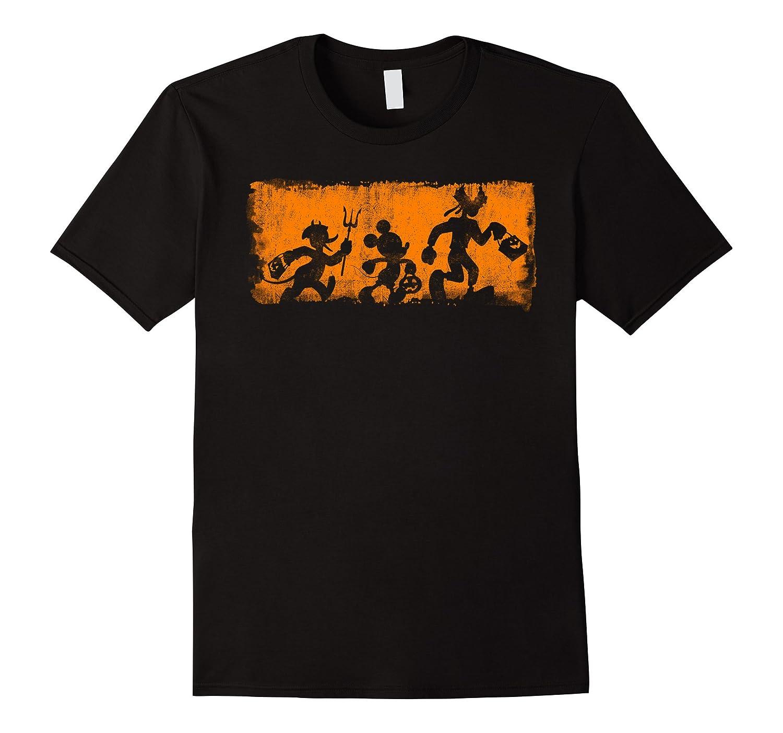 Disney Mickey and Friends Halloween T Shirt