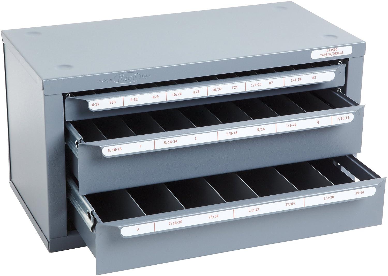 Amazon.com: Huot Three-Drawer Tap and Drill Bit Dispenser Cabinet ...