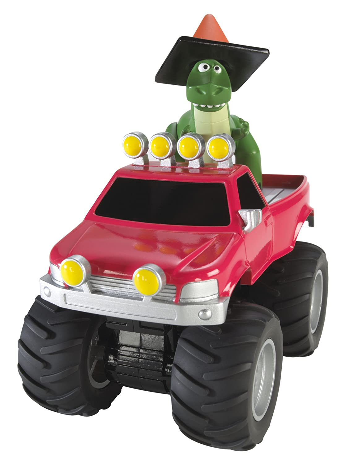 amazon com toy story pull and go monster pick up truck vehicle