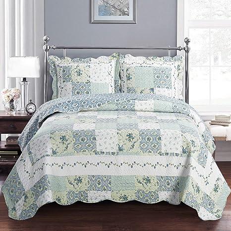 Amazon.com: Deluxe Brea Oversized Juego de cama. Hermosa ...