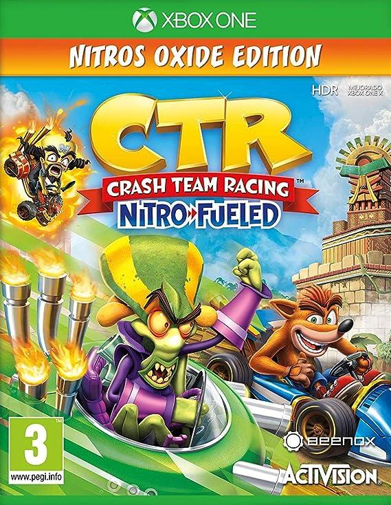 Crash Team Racing Nitro Fueled - Edición Nitros Oxide: Amazon.es: Videojuegos