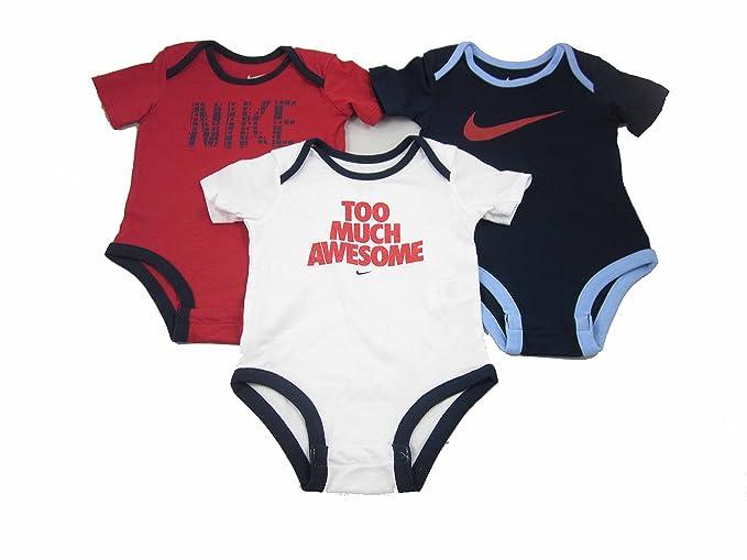 7fd4027c41146 Nike 3 Pack Infant Baby Bodysuits