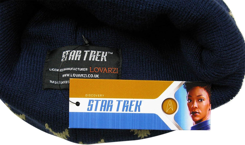 Merchandising oficial para fans de LOVARZI STAR TREK Discovery Bufanda con Insignias de comando