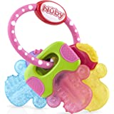 Nuby UK Ice Bite Teether Keys, Pink