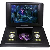 15 Inch TFT Swivel Portable DVD Player With 3D Feature +GAME+MP3+USB+SD (Black)