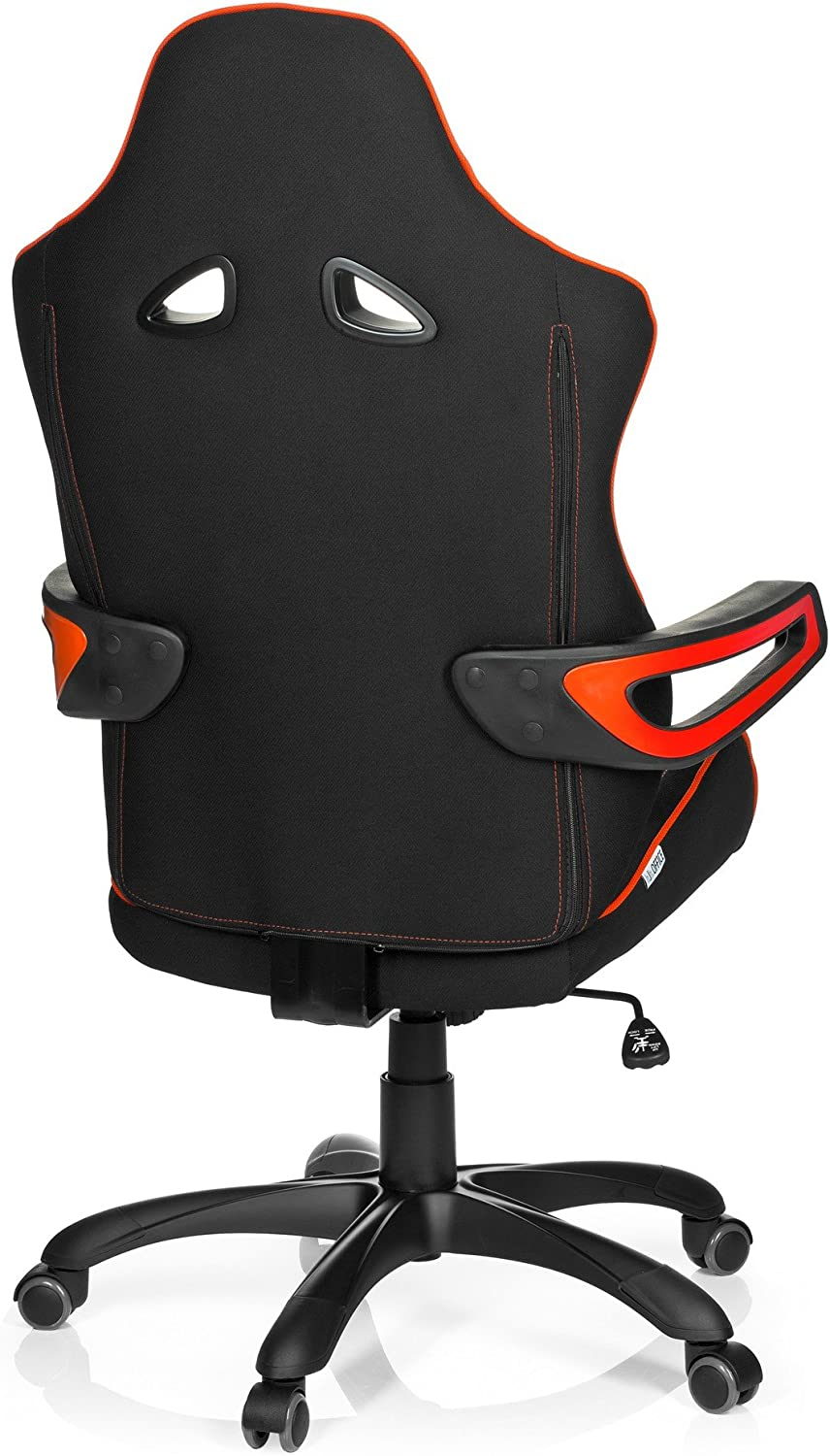 Gaming Chair/Office Chair RAYCER PRO II Fabric, Black/Red hjh OFFICE Black/Red