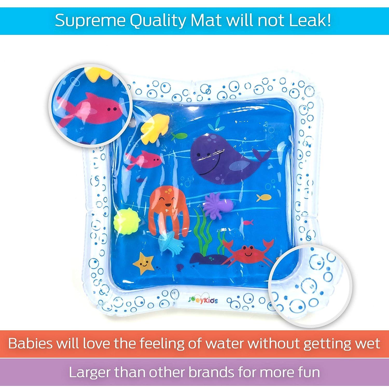 Amazon.com: JoeyKids Deluxe - Alfombrilla inflable para bebé ...
