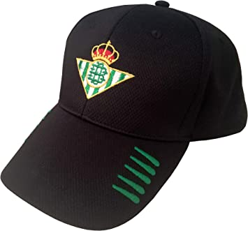 Real Betis Balompié GORBET Gorra, Adultos Unisex, Negra, Talla Unica: Amazon.es: Ropa y accesorios