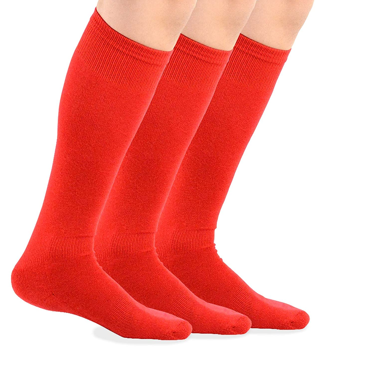 TeeHee Bamboo All Sports Half Cushion Socks with Arch Support 3-Pairs Pack Soxnet Inc