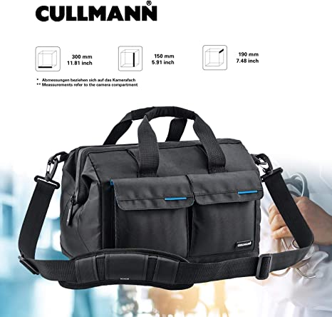 Cullmann 98370 - Bolso para cámara réflex, Negro: Amazon.es ...