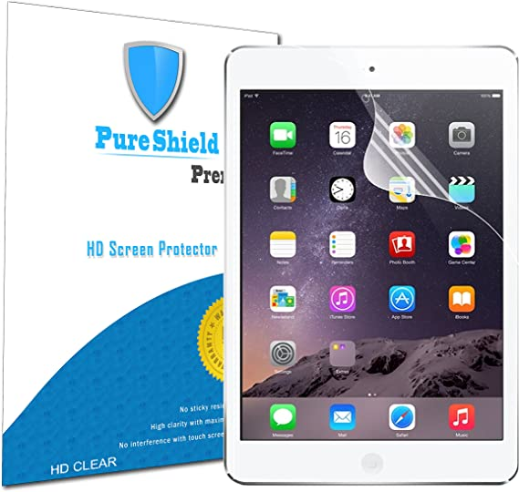 Clear Crystal Transparent Screen Protector Guard Shield For Apple iPad Air 2 1