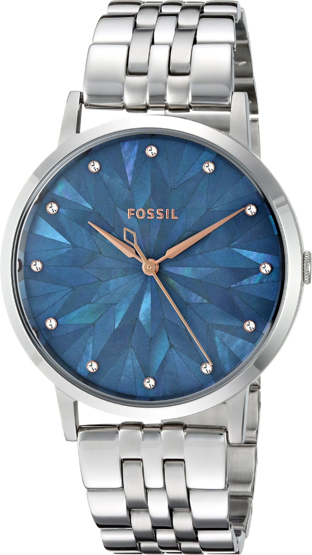 Fossil Women's 'Vintage Muse' Quartz Stainless Steel Casual Watch, Color:Silver-Toned (Model: ES4309)