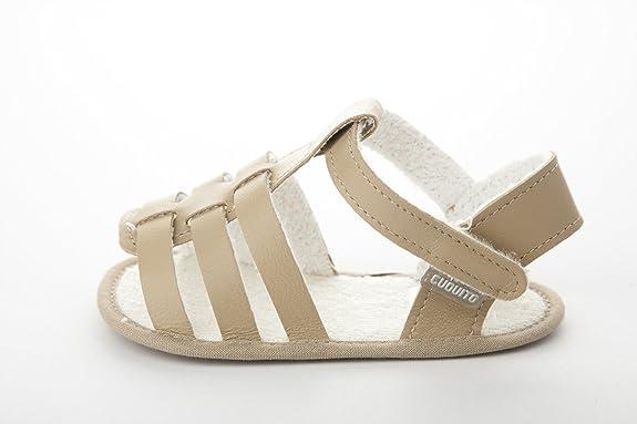 54b92ea22 CUQUITO 50687 Sandalias de bebé Color camel Talla 19  Amazon.es  Zapatos y  complementos