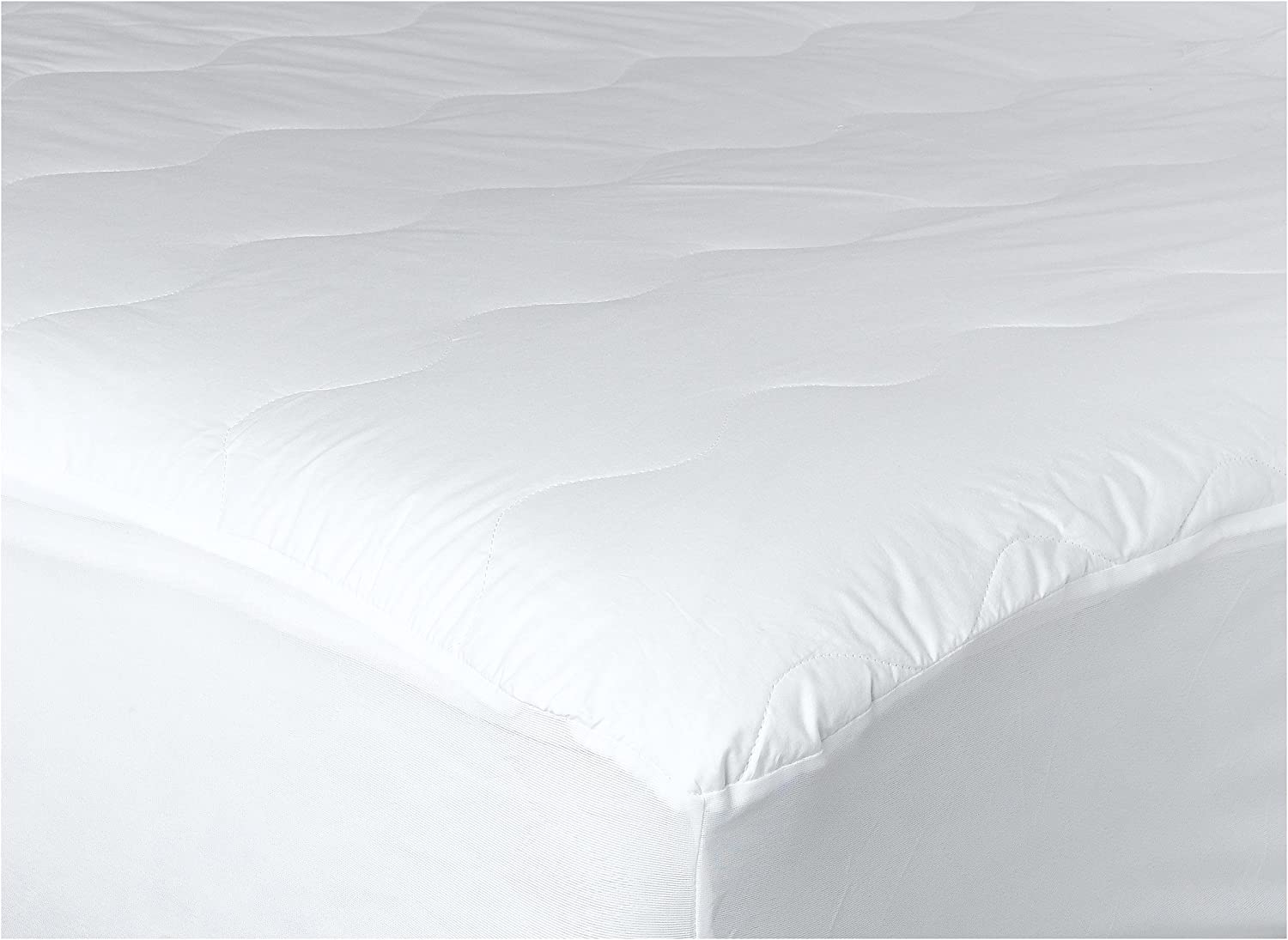 Newpoint Home ewpoint International Count 200-Thread countt Cotton Waterproof Mattress Pad, Twin, White