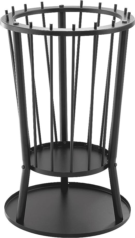 Black Saey Home /& Garden Barbecook Modern Ronda Fire Basket