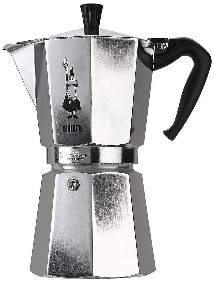 Bialetti 1166 Moka Express Export Espresso Maker, Silver: Amazon ...