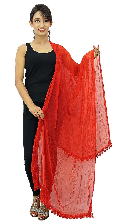 Chiffon Blend Scarves Dupatta Woman Chunni Indian Stole Throw ibaexports