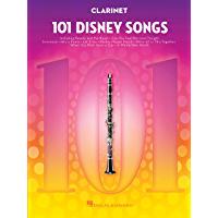 101 Disney Songs: for Clarinet book cover