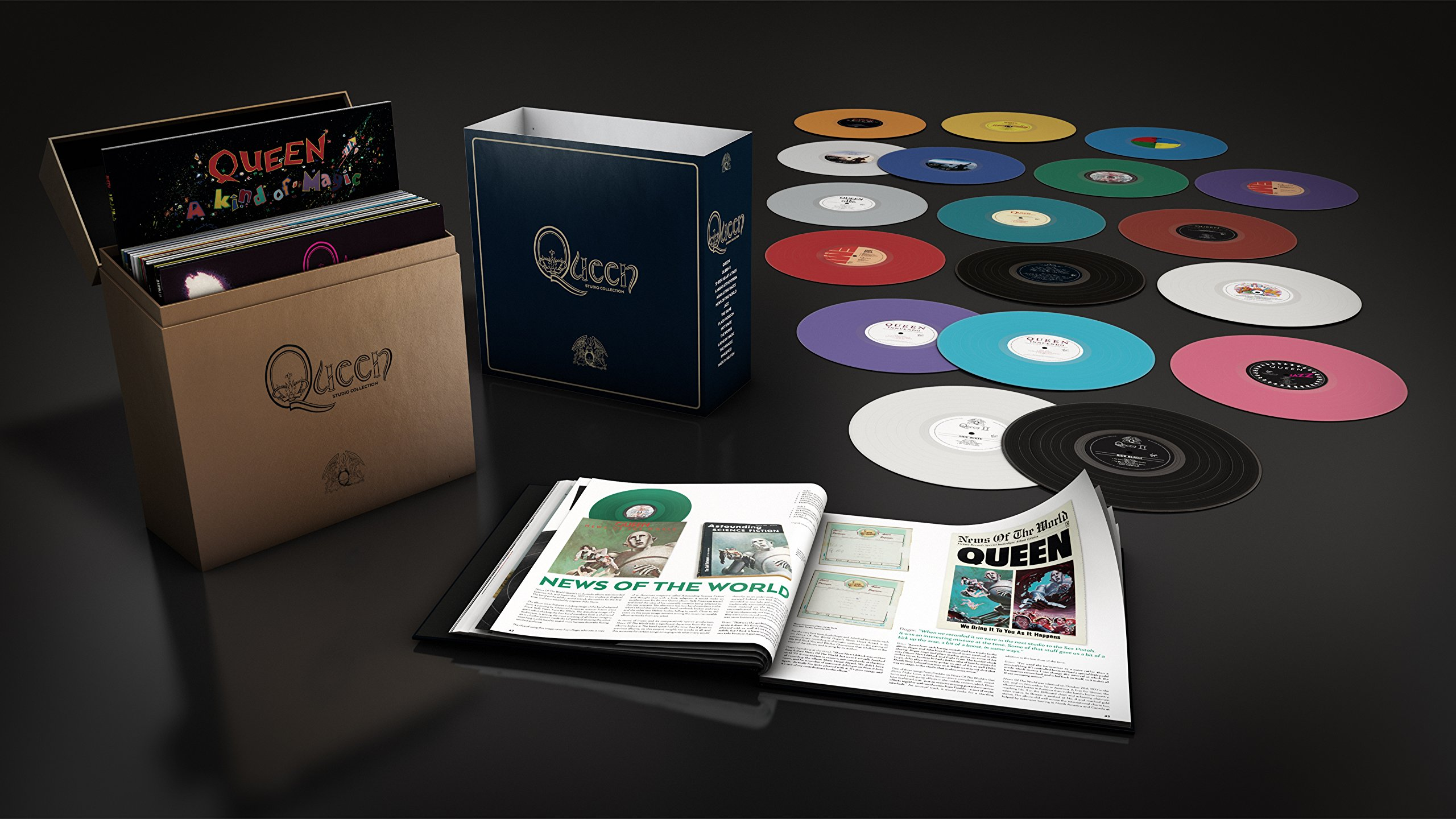 Complete Studio [18 LP Box Set] by VINYL