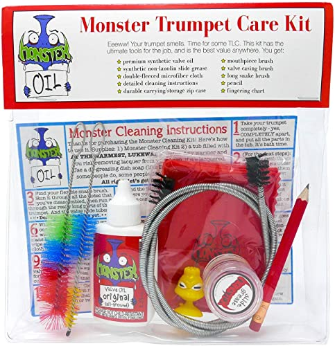 Monster Trumpet/Cornet Care and Cleaning Kit