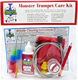 Monster Trumpet/Cornet Care and Cleaning Kit | Valve Oil, Slide Grease, and More! Everything You Need to Take Care of…