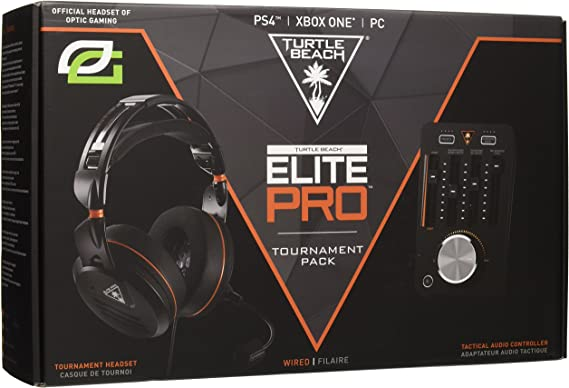 Elite Pro Tournament Gaming Headset and TAC Bundle PS4