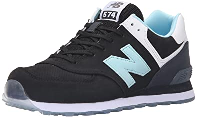 80143e821bd New Balance Men s ML574 State FAIR-M Black Blue 9 ...