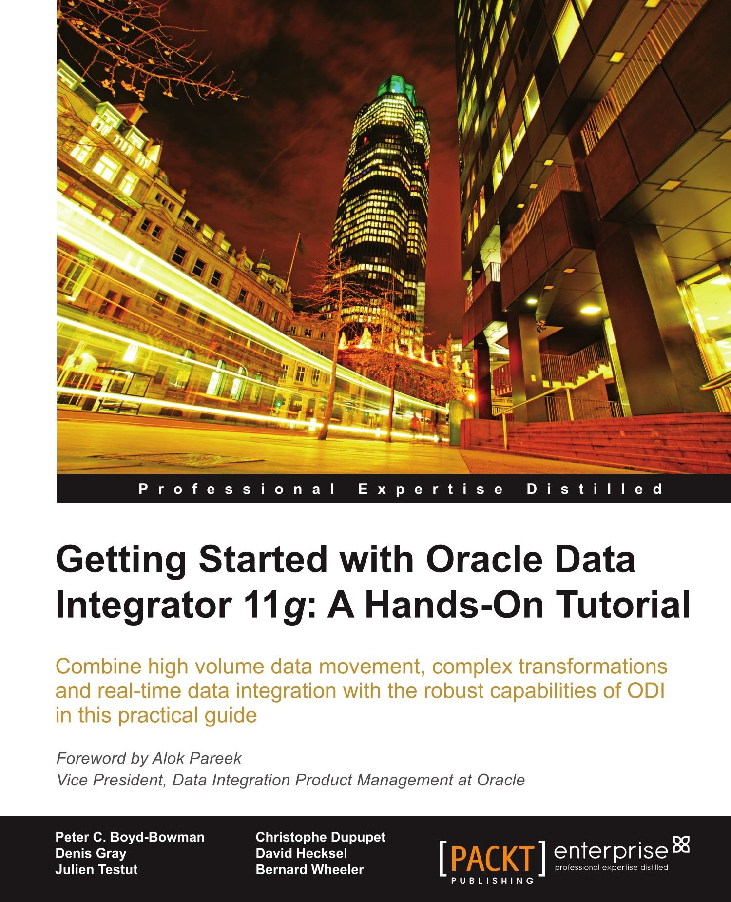 Read Online Getting Started with Oracle Data Integrator 11g: A Hands-on Tutorial PDF