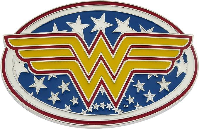Wonder Woman Logo Belt Buckle
