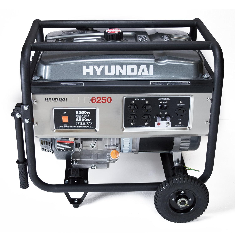 Amazon Hyundai HHD6250 6250 Watt 4 Stroke Portable Heavy