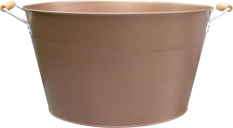 Artland Masonware Oval Party Tub, Antique Copper