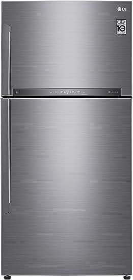LG 630 L 2 Star Inverter Frost Free Double Door Refrigerator  GR H812HLHU, Platinum Silver 3  Refrigerators