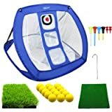 MESIXI Pop Up Golf Chipping Net | Perfect Golf Gifts for Men, Outdoor Indoor Putting Green Golfing Target Accessories…