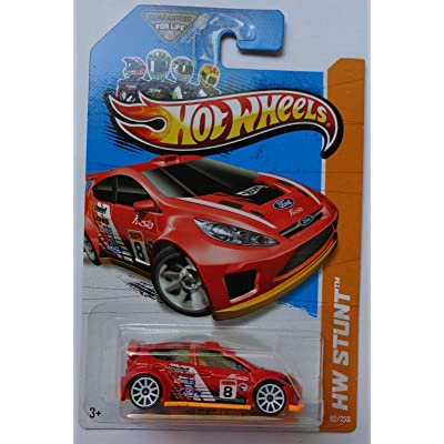 2013 Hot Wheels Hw Stunt 12 Ford Fiesta - Treasure Hunt: Toys & Games