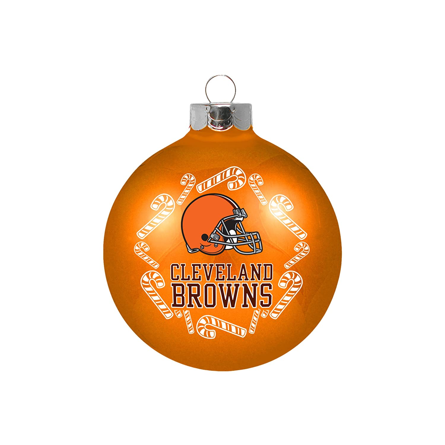 Cleveland Browns Candy Cane Ornament