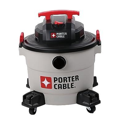 Porter-Cable Wet/Dry Vacuum, 9 Gallon, 5 Horsepower - Corded: Home Improvement [5Bkhe1503012]