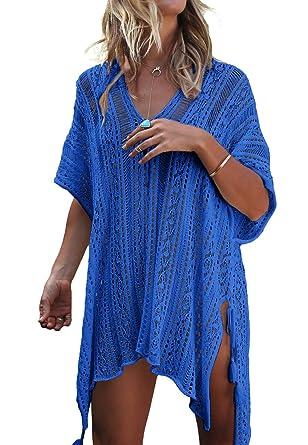 8548f6b3f9 Happy Sailed Womens Swimwear Coverup Bikini Coverup Bathing Suit Beach  Cover up Sarong: Amazon.co.uk: Clothing