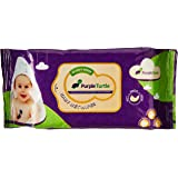 WIPES PURPLE TURTLE BUY 1 GET 1 (80 SHEETS)