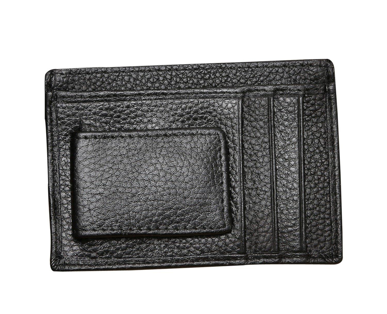 DEEZOMO Multifunction Money Clip Wallet /& Credit Card Holder Black