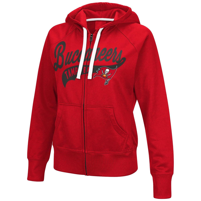 Amazon.com   GIII For Her NFL Tampa Bay Buccaneers Women s Game Day Full  Zip Fleece Hoodie 453825478