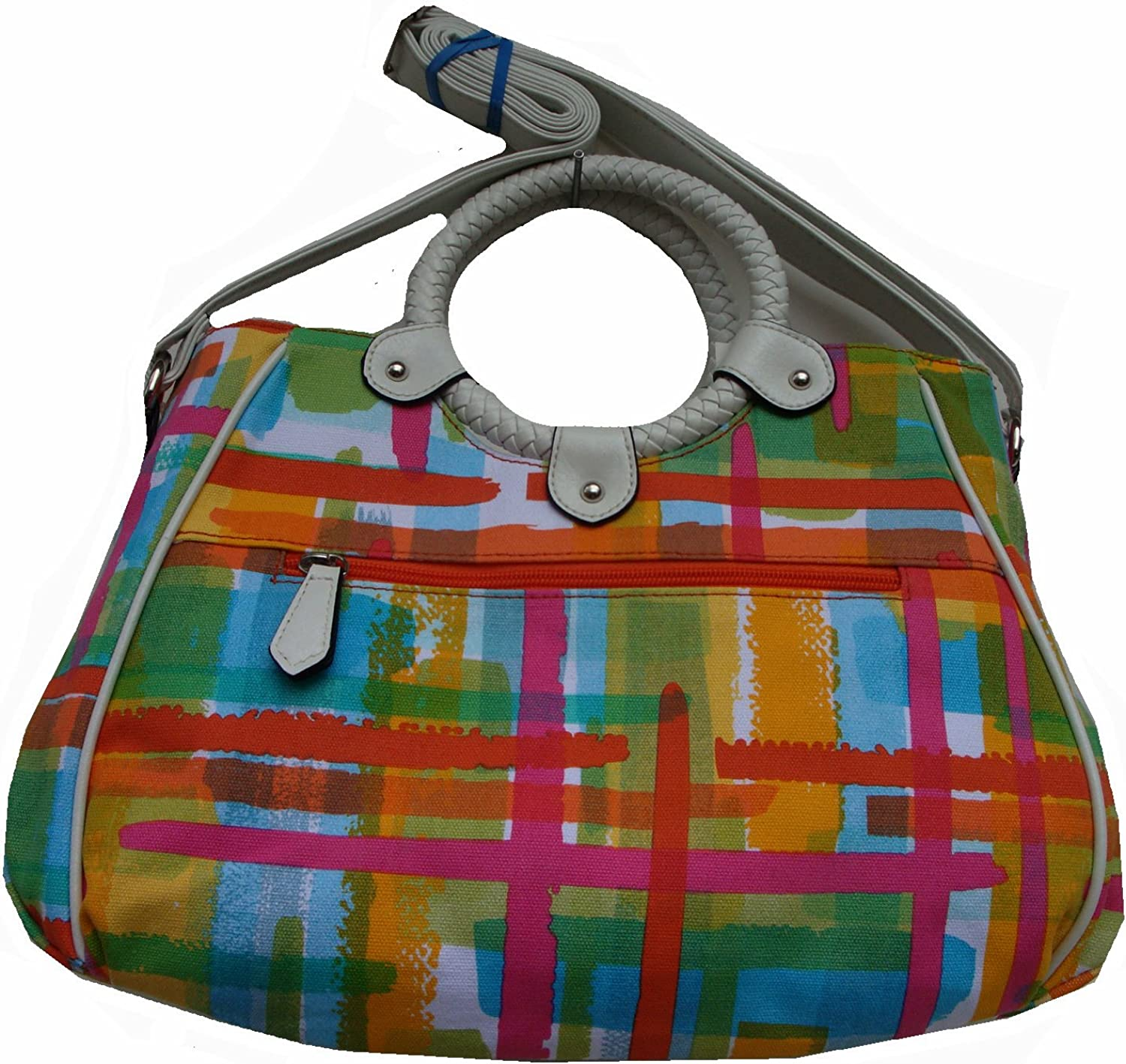 Multi Colors Rosetti Womens Take-a-long Shoulder Handbag
