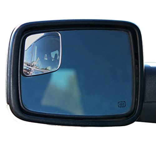 Wadestar RM10 Blind Spot Mirrors For 2009-2018 Dodge Ram Trucks