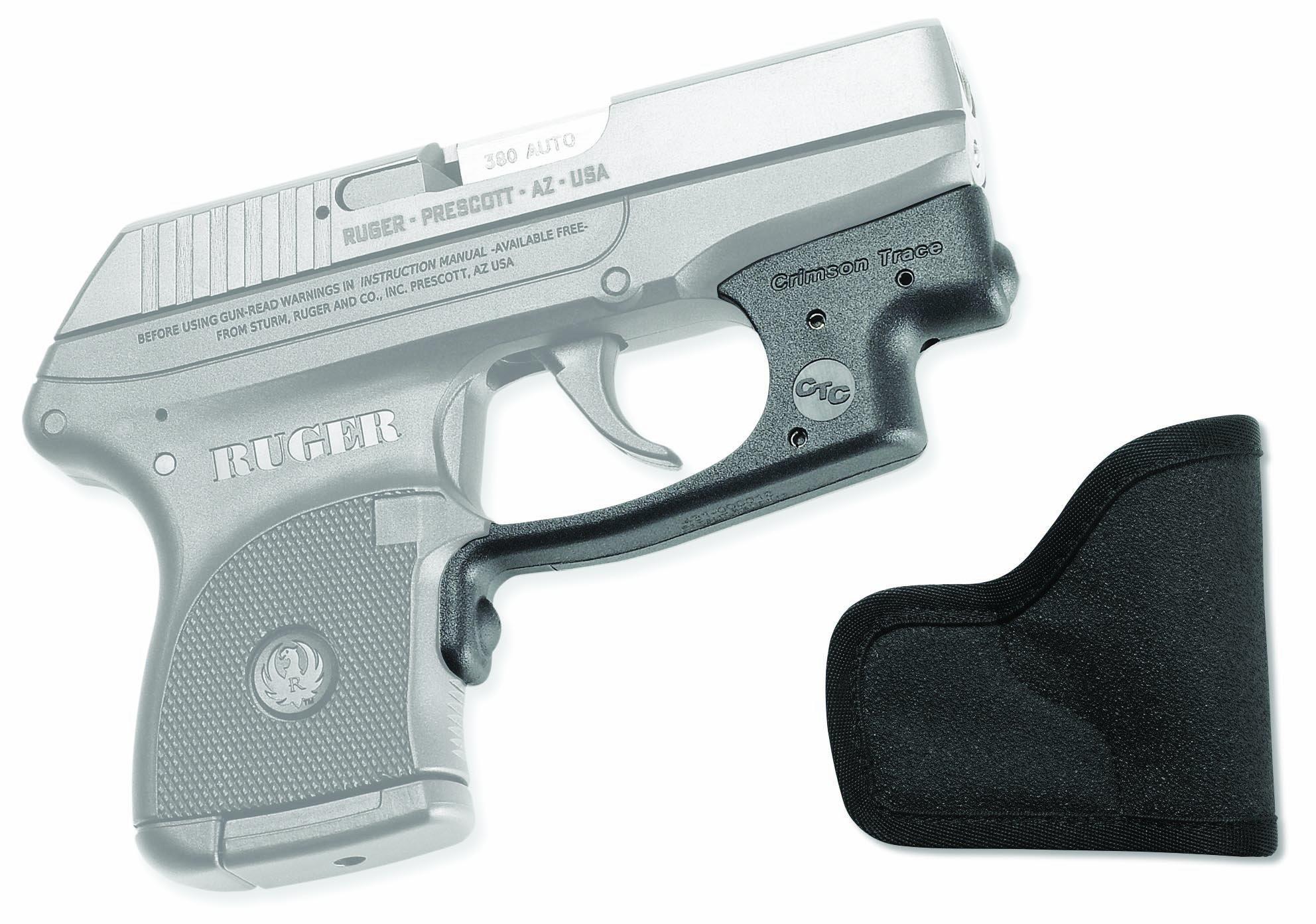 Crimson Trace LG-431 Laserguard Red Laser Sight for Ruger LCP Pistols with Pocket Holster